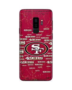 San Francisco 49ers Blast Galaxy S9 Plus Skin