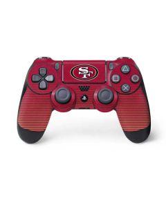 San Francisco 49ers Breakaway PS4 Controller Skin