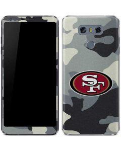 San Francisco 49ers Camo LG G6 Skin