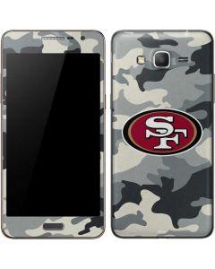 San Francisco 49ers Camo Galaxy Grand Prime Skin