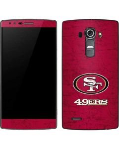 San Francisco 49ers Distressed G4 Skin