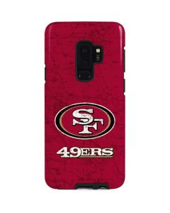 San Francisco 49ers Distressed Galaxy S9 Plus Pro Case