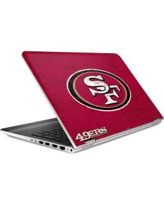 San Francisco 49ers Distressed HP Pavilion Skin