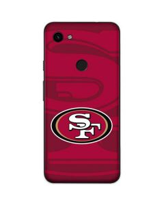 San Francisco 49ers Double Vision Google Pixel 3a Skin
