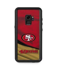 San Francisco 49ers Galaxy S9 Waterproof Case