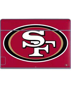 San Francisco 49ers Large Logo Galaxy Book Keyboard Folio 12in Skin