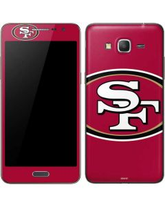 San Francisco 49ers Large Logo Galaxy Grand Prime Skin