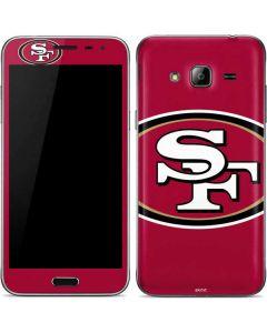 San Francisco 49ers Large Logo Galaxy J3 Skin