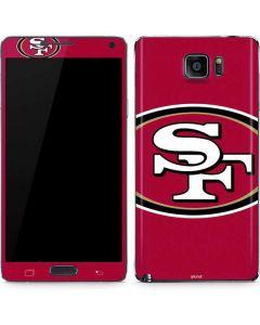 San Francisco 49ers Large Logo Galaxy Note5 Skin