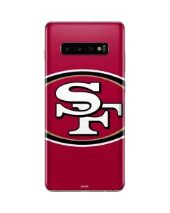 San Francisco 49ers Large Logo Galaxy S10 Plus Skin