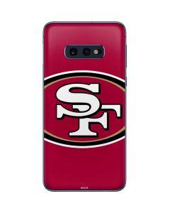 San Francisco 49ers Large Logo Galaxy S10e Skin