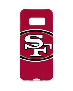 San Francisco 49ers Large Logo Galaxy S8 Plus Lite Case