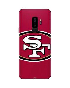 San Francisco 49ers Large Logo Galaxy S9 Plus Skin