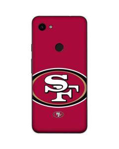 San Francisco 49ers Large Logo Google Pixel 3a Skin