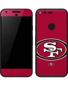 San Francisco 49ers Large Logo Google Pixel Skin