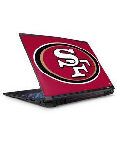 San Francisco 49ers Large Logo GP62X Leopard Gaming Laptop Skin