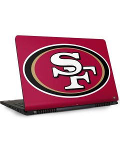 San Francisco 49ers Large Logo Dell Inspiron Skin
