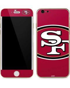 San Francisco 49ers Large Logo iPhone 6/6s Skin