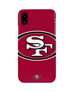 San Francisco 49ers Large Logo iPhone XR Lite Case