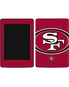 San Francisco 49ers Large Logo Amazon Kindle Skin