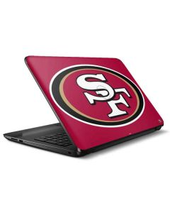 San Francisco 49ers Large Logo HP Notebook Skin