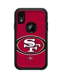 San Francisco 49ers Large Logo Otterbox Defender iPhone Skin