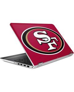 San Francisco 49ers Large Logo HP Pavilion Skin