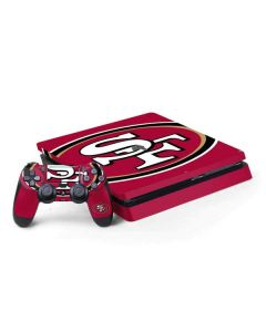 San Francisco 49ers Large Logo PS4 Slim Bundle Skin