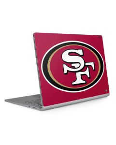 San Francisco 49ers Large Logo Surface Book 2 15in Skin