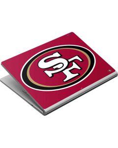 San Francisco 49ers Large Logo Surface Book Skin