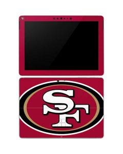 San Francisco 49ers Large Logo Surface Go Skin