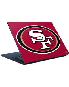 San Francisco 49ers Large Logo Surface Laptop Skin