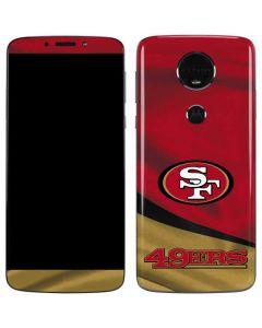 San Francisco 49ers Moto E5 Plus Skin