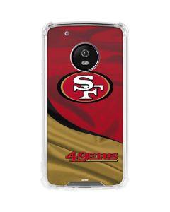 San Francisco 49ers Moto G5 Plus Clear Case