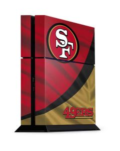 San Francisco 49ers PS4 Console Skin