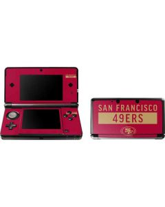 San Francisco 49ers Red Performance Series 3DS (2011) Skin