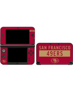 San Francisco 49ers Red Performance Series 3DS XL 2015 Skin