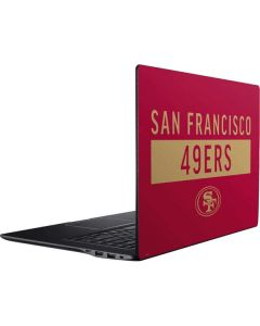 San Francisco 49ers Red Performance Series Ativ Book 9 (15.6in 2014) Skin