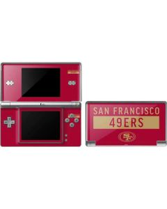 San Francisco 49ers Red Performance Series DS Lite Skin