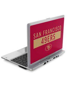 San Francisco 49ers Red Performance Series Elitebook Revolve 810 Skin