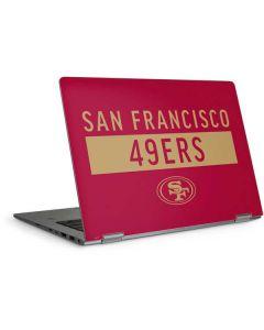 San Francisco 49ers Red Performance Series HP Elitebook Skin