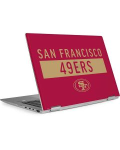 San Francisco 49ers Red Performance Series HP Envy Skin