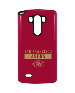 San Francisco 49ers Red Performance Series G3 Stylus Pro Case