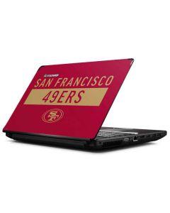San Francisco 49ers Red Performance Series G570 Skin