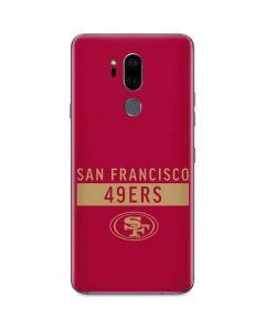 San Francisco 49ers Red Performance Series G7 ThinQ Skin