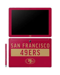 San Francisco 49ers Red Performance Series Galaxy Book 10.6in Skin