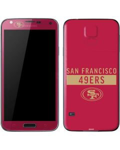 San Francisco 49ers Red Performance Series Galaxy S5 Skin