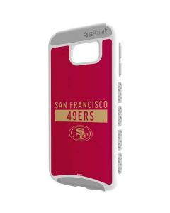 San Francisco 49ers Red Performance Series Galaxy S6 Cargo Case