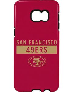 San Francisco 49ers Red Performance Series Galaxy S6 edge+ Pro Case