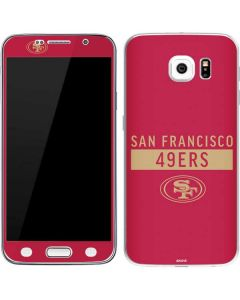 San Francisco 49ers Red Performance Series Galaxy S6 Skin